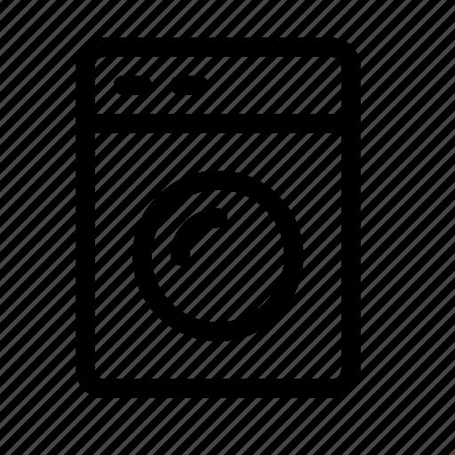 Appliances, clothing, dryer, washer, washing, machine icon - Download on Iconfinder