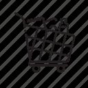 basket, buy, cart, shop, shopping, supermarket