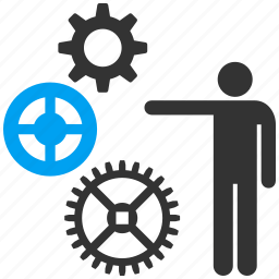 business, construction, factory, gear, settings, tools, work icon