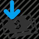 income, profit, money, payment, deposit, gain, percent