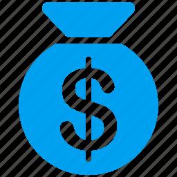 bag, bank, banking, deposit, fund, gold, wages icon