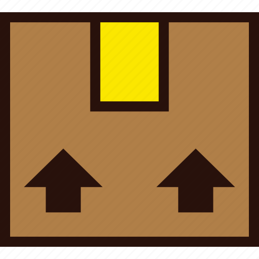 box, delivery, package, transport icon