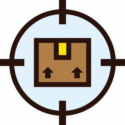 box, delivery, eccomerce, online, package, tracking icon