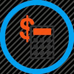 accounting, balance, business, calculate, calculation, calculator, finance icon