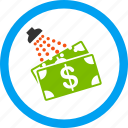 clean, crime, finance, laundromat, money laundry, wash, washing icon