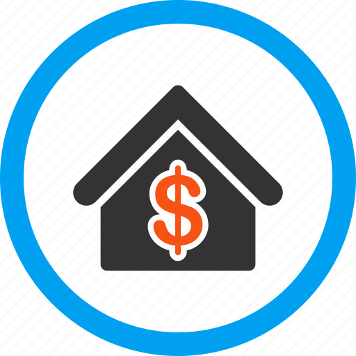home rent, house, loan, mortgage, real estate, realty price, sale icon