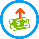 banknotes, buy, pay, payment, purchase, shopping, spend money icon