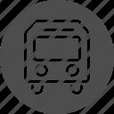 bus, coach, traffic, transfer, transport, transportation, travel, vehicle icon