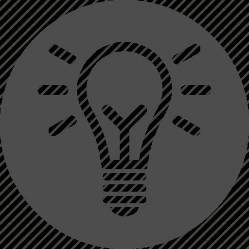 bulb, electricity, energy, idea, lamp, light, power, super icon