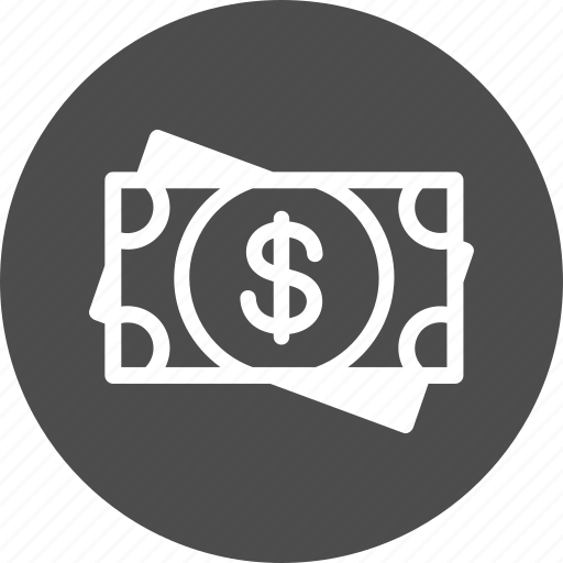 cash, dollar, finance, funding, investment, money, usd icon