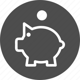 account, bank, cash, finance, guardar, piggy, save, savings, store icon