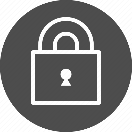 closed, guard, keyhole, lock, locked, login, password, privacy, private, protect, protection, safe, safety, security icon