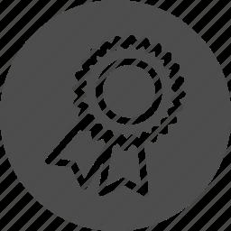 award, badge, bullet font, bullet point, certificate, custom, custom shape, medal, point, seal, sertification, shape, star, typography, wingding icon