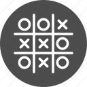 biz, game, plan, play, sport, strategy, tactic, tic-tac-toe, tick-tack-toe, war icon