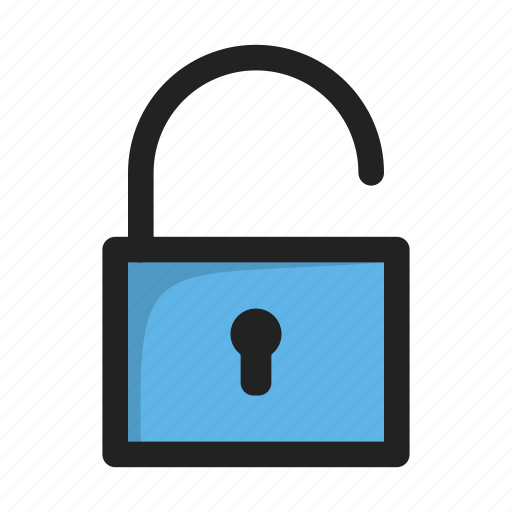 lock, open, safe, security, unlock icon