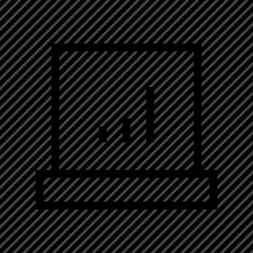 bar, chart, commerce, market, notebook, shop, supermarket icon