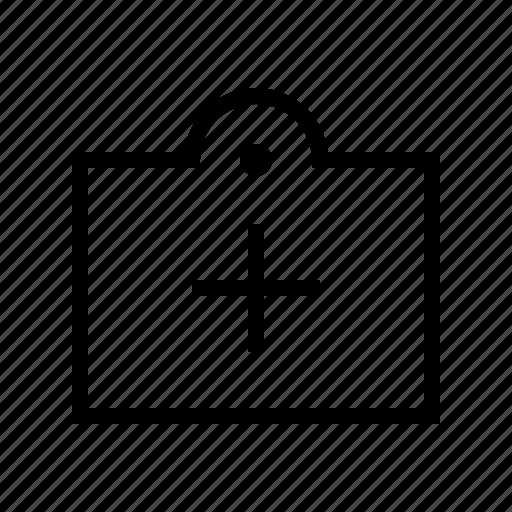 add, commerce, market, shop, supermarket, tag icon