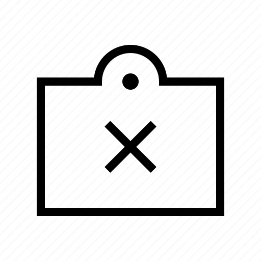 commerce, delete, market, shop, supermarket, tag icon
