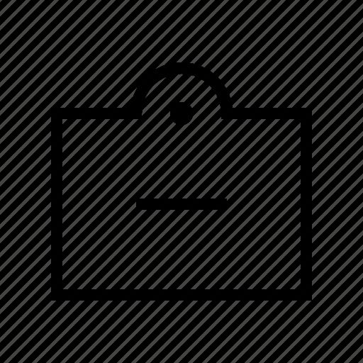 commerce, market, remove, shop, supermarket, tag icon