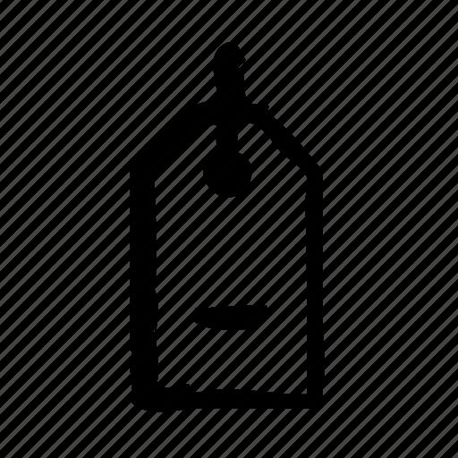 commerce, interface, remove, shop, tag, ui, ux icon