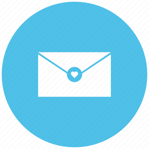 email, greeting, love message, message, valentine message icon