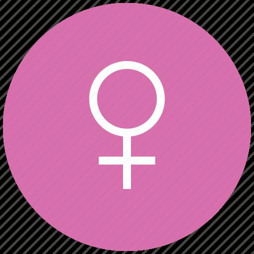 female sign, female symbol, femalesymbol, gender symbol, sex symbol, venus symbol, womanrestroom sign icon