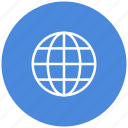 global, internet, planet, web, world, www icon