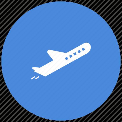 aircraft, flight, jet, plane, travel icon