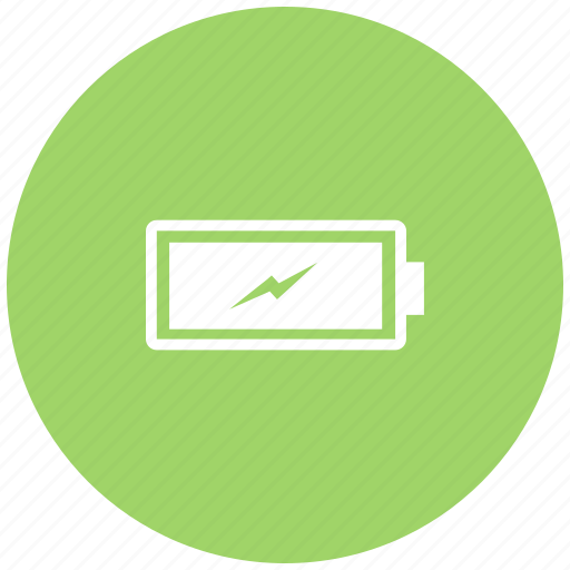 battery, battery level, charge full, charged, energy, mobile battery icon