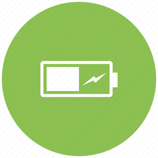battery, battery full, battery level, charge, charging, mobile battery icon