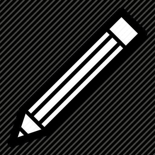 edit, eraser, message, pen, pencil, text, write icon