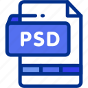 file, format, image, photoshop, psd icon