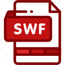 animation, file, flash, format, presentation, swf icon