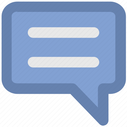 Chat balloon, chat bubble, comments, communication, speech balloon, speech bubble, talk icon - Download on Iconfinder