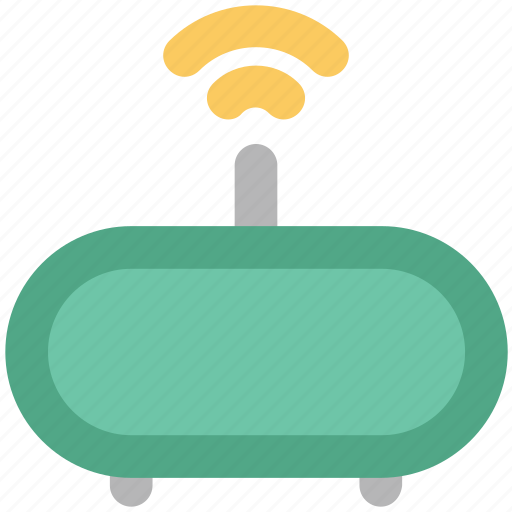 internet booster, modem, router, signal, wifi modem, wifi router, wifi signals icon