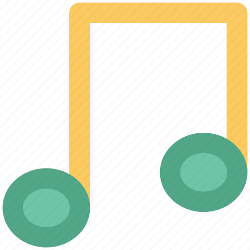 audio, music, music note, music sign, music wave, note, songs icon