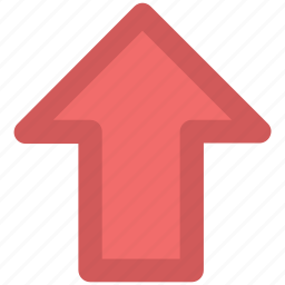 arrow, file upload, outbox, up arrow, upload button, uploading icon