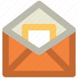 email, envelope, inbox, letter, mail, sent email icon