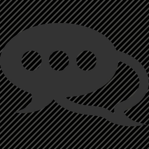 communication, conversation, dialogue, message icon