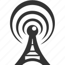 antenna, radio, tower, wifi icon