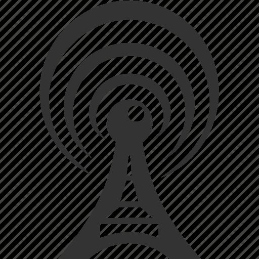 antenna, radio, tower, wifi icon