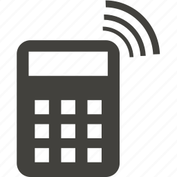 calculator, communication, connection, internet icon