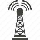 communication, connection, internet, network, rig, tower icon