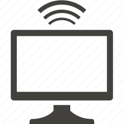communication, connection, internet, monitor icon