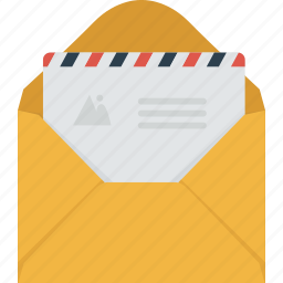 communication, email, envelope, letter, mail, message, newsletter, paper icon