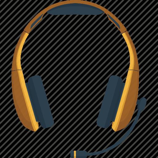 communication, headphones, headset, listen, mic, microphone, sound, speak, talk icon