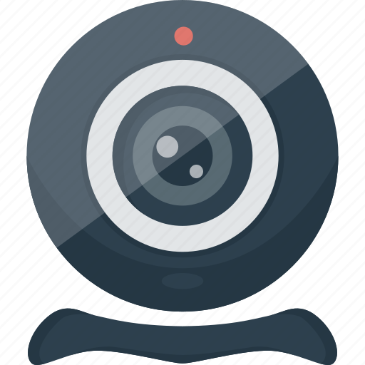 camera, chat, communication, device, facetime, photo, record, tchat, video, webcam icon