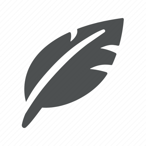 compose, feather, pen, post, quill, tweet, write icon
