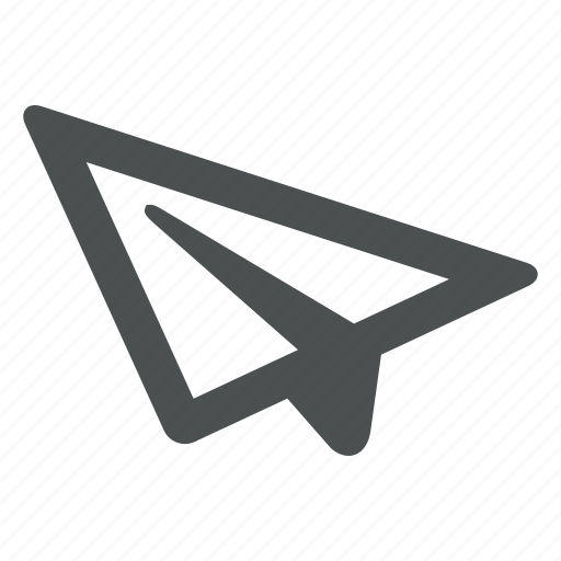 airplane, creative, email, mail, paper, plane, send icon