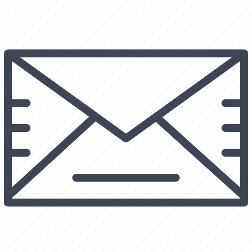 closed, communication, email, envelope, mail, message icon